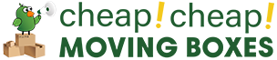 Cheap Cheap Moving Boxes Logo