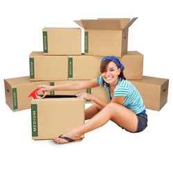 medium moving boxes bundle of 10