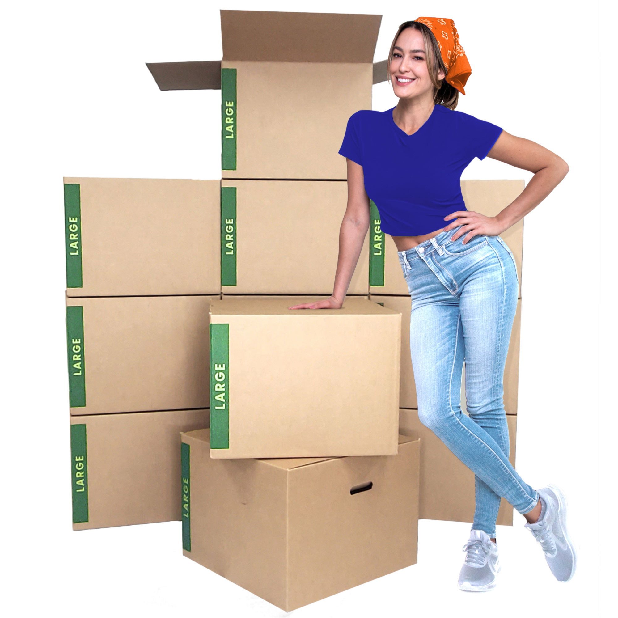 Large Moving Box Bundle of 12 boxes