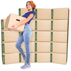Medium Moving boxes bundle of 20