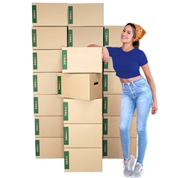 small moving boxes bundle of 25