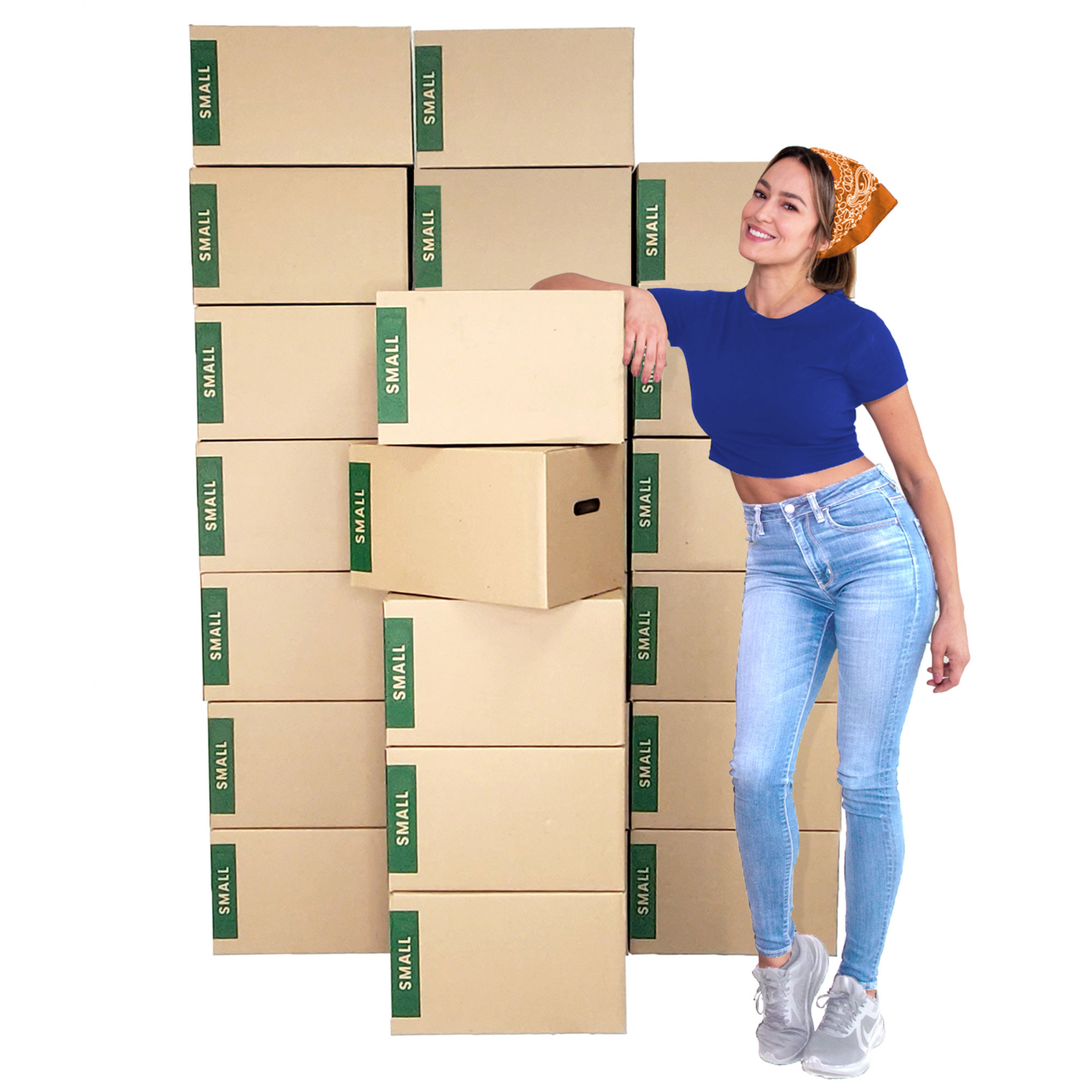 25 Small Moving Boxes