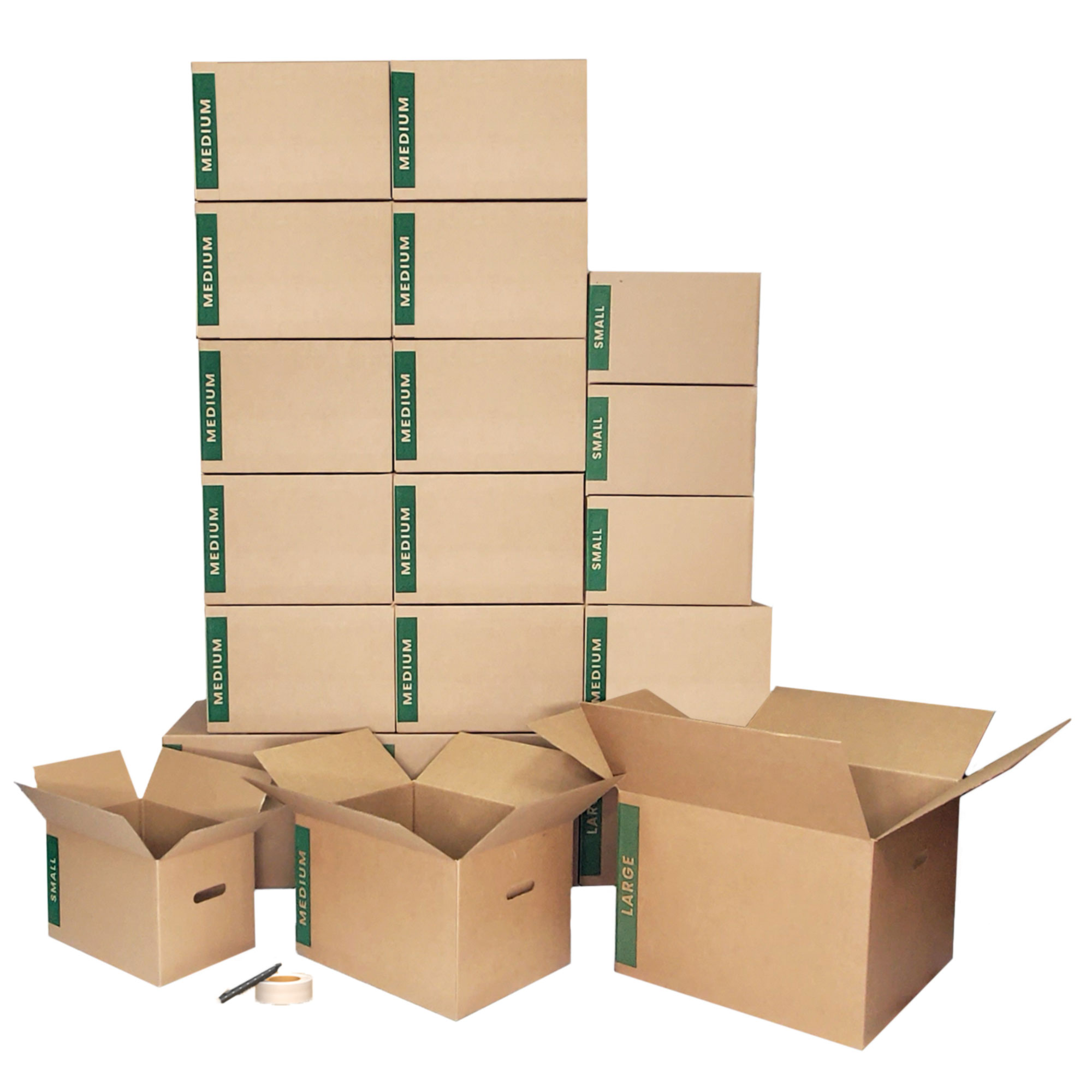 Combo Moving Box Kit